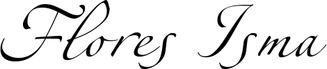 Logotipo de Flores Isma Madrid